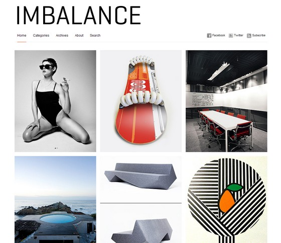 Imbalance тема WordPress