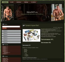 Bodybuilding wp theme