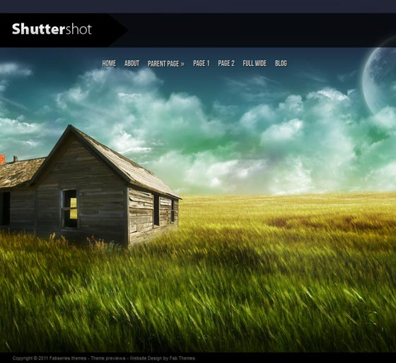 Shuttershot тема WordPress