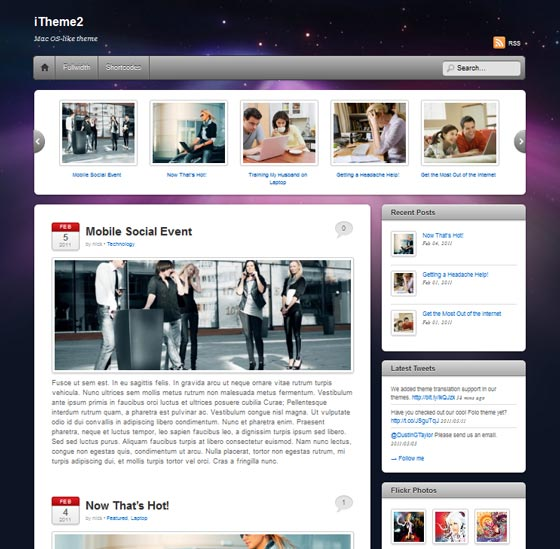iTheme2 тема WordPress