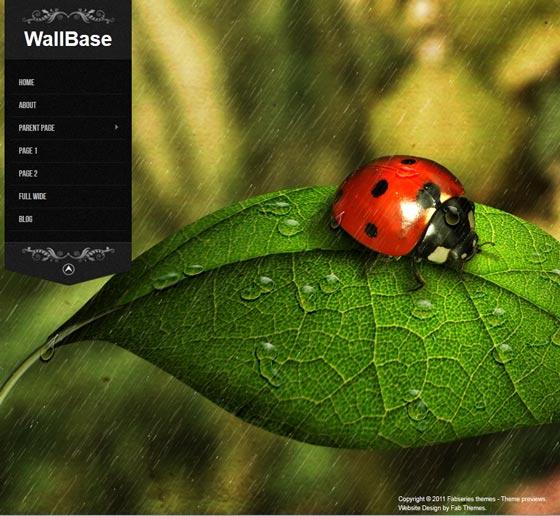 Wallbase тема WordPress