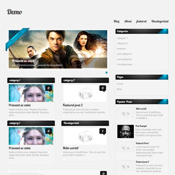 Amphion Lite тема WordPress