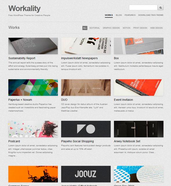 Workality тема WordPress