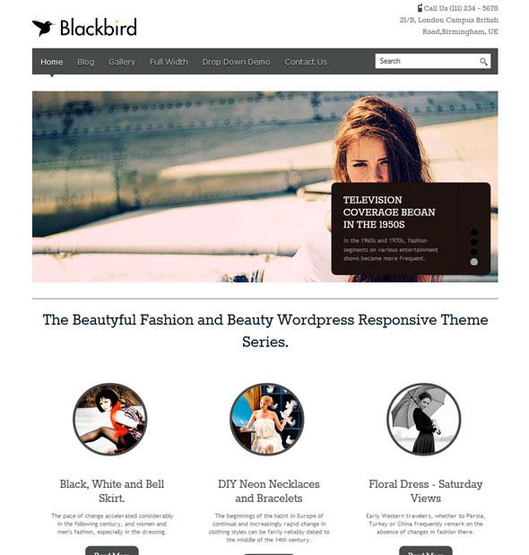 BlackBird тема WordPress