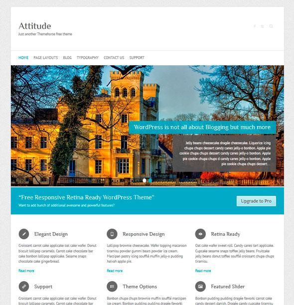 Attitude тема WordPress