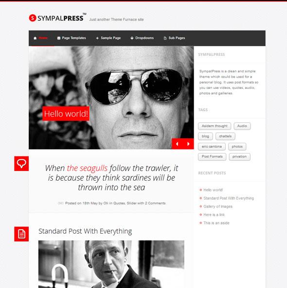 SympalPress Lite тема WordPress