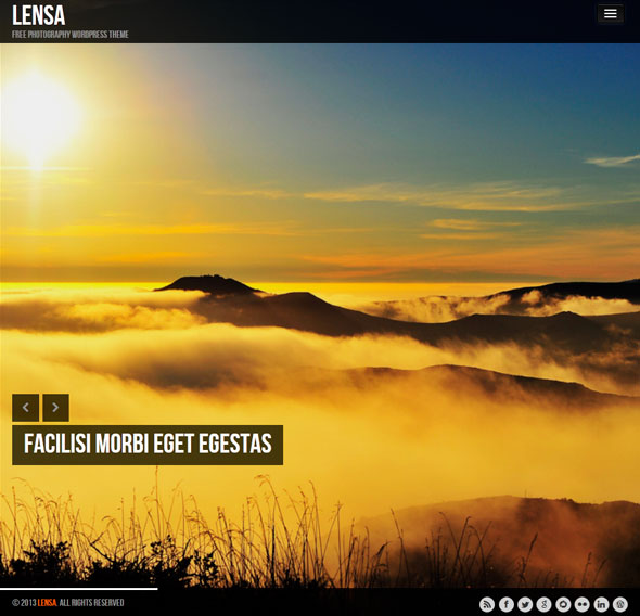 Lensa тема WordPress