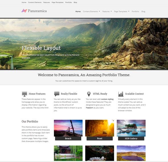 Panoramica тема WordPress