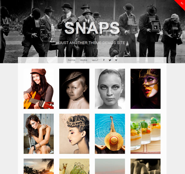 Snaps тема WordPress
