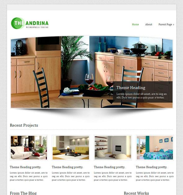 Andrina Lite тема WordPress