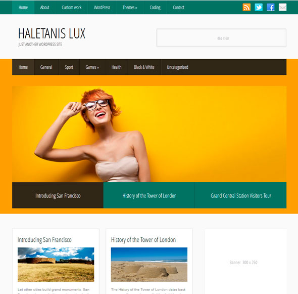 HaletanisLux тема WordPress