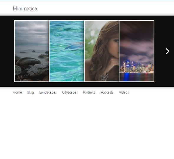 Minimatica тема WordPress