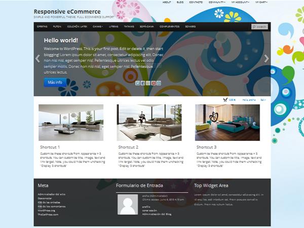 Boot Store тема WordPress