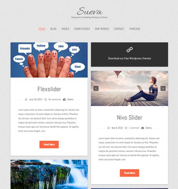 Suevafree тема WordPress
