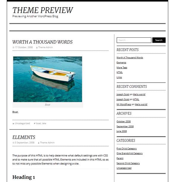 Divine тема WordPress