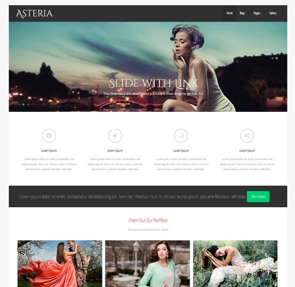 Asteria Lite тема WordPress