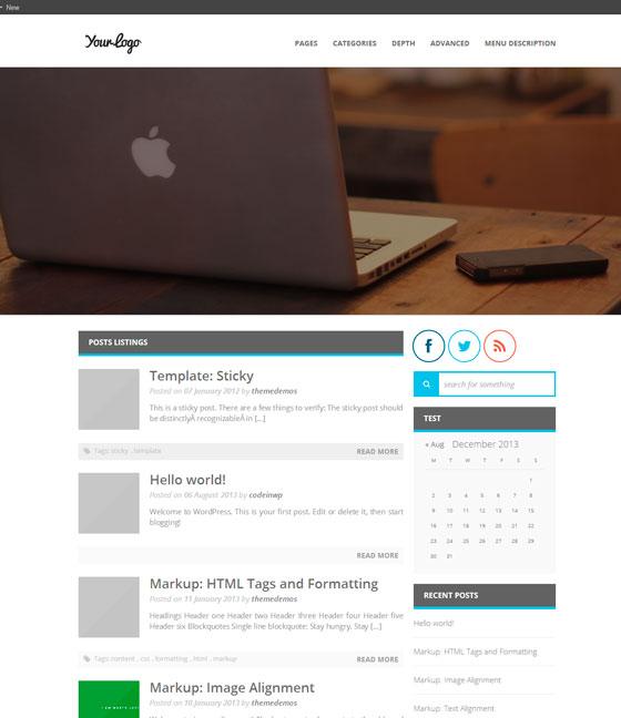 MiniMagazine тема WordPress